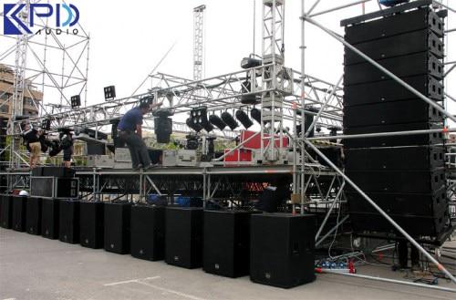 Dàn âm thanh sân khấu gồm những thiết bị gì?