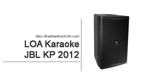 Loa JBL KP 2012