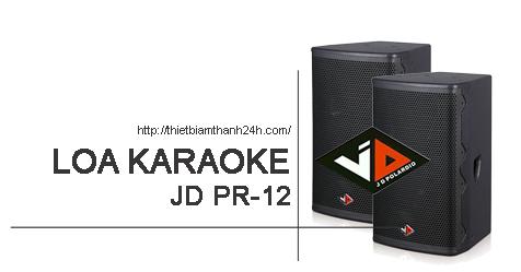 Loa JD PR12