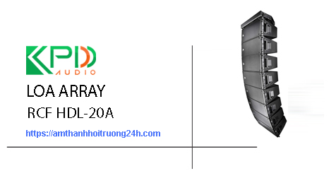 Loa Array RCF HDL 20A