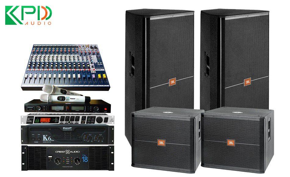 Cách chọn thiết bị cho dàn âm thanh hội trường trong nhà và ngoài trời