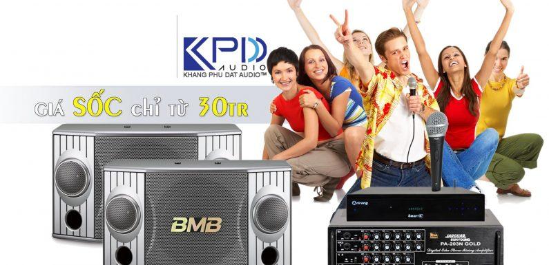 Tư vấn chọn bộ cấu hình dàn karaoke gia đình 30 triệu cực chất