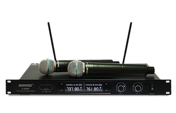 Micro không dây Shure U8600